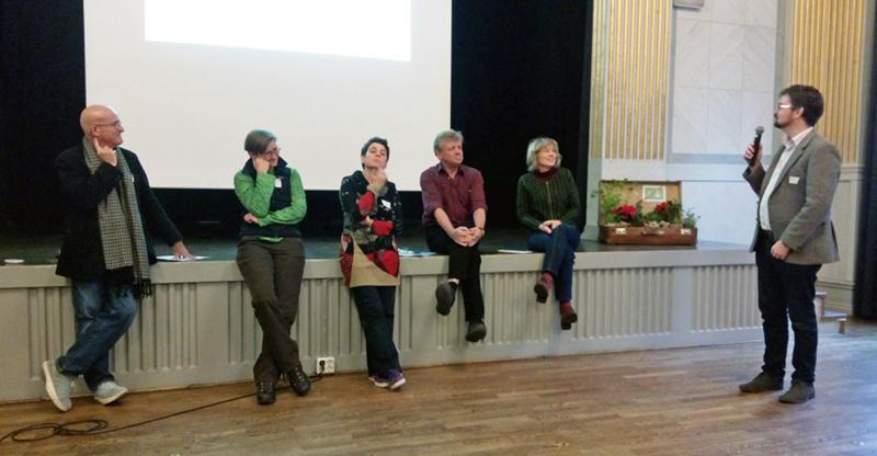 Panelsamtal under slutseminarie för Odling över gränser, 5 december 2014